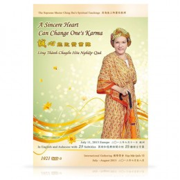 Video-1021 A Sincere Heart Can Change One's Karma